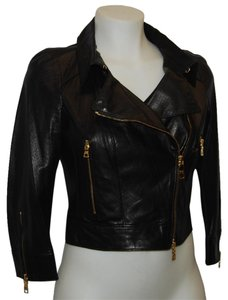 Prada Leather Motorcycle Jacket