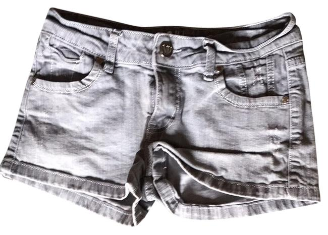 NV Denim Shorts-Coated