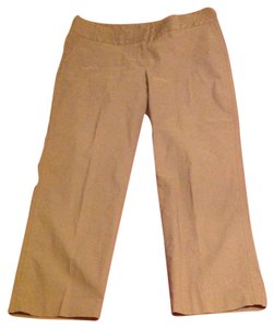 Axcess Cropped Liz Claiborne Capri/Cropped Pants Brown