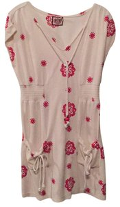 Juicy Couture short dress Beige/red on Tradesy