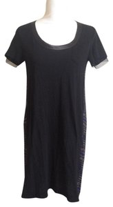 Sacai Luck short dress Sacai Luck NWT black blue Cupro Japanese Designer Tunic on Tradesy