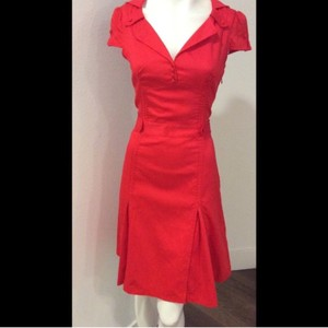 Ted Baker short dress Red on Tradesy