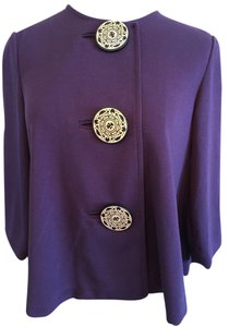 Coldwater Creek Purple Blazer