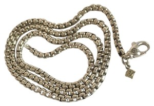 David Yurman box chain necklace 3.6mm 22