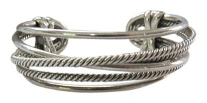 David Yurman David Yurman The Crossover Collection - Narrow Cuff Bracelet, Medium