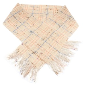 Burberry Burberry Women's Beige Multi-Color Wool Blend Scarf (28611)