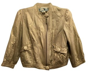 Jolt Metallic Gold Jacket
