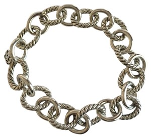 David Yurman Large oval link bracelet 12mm