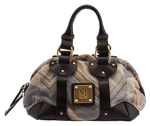Missoni Satchel in Beige/Multi Color