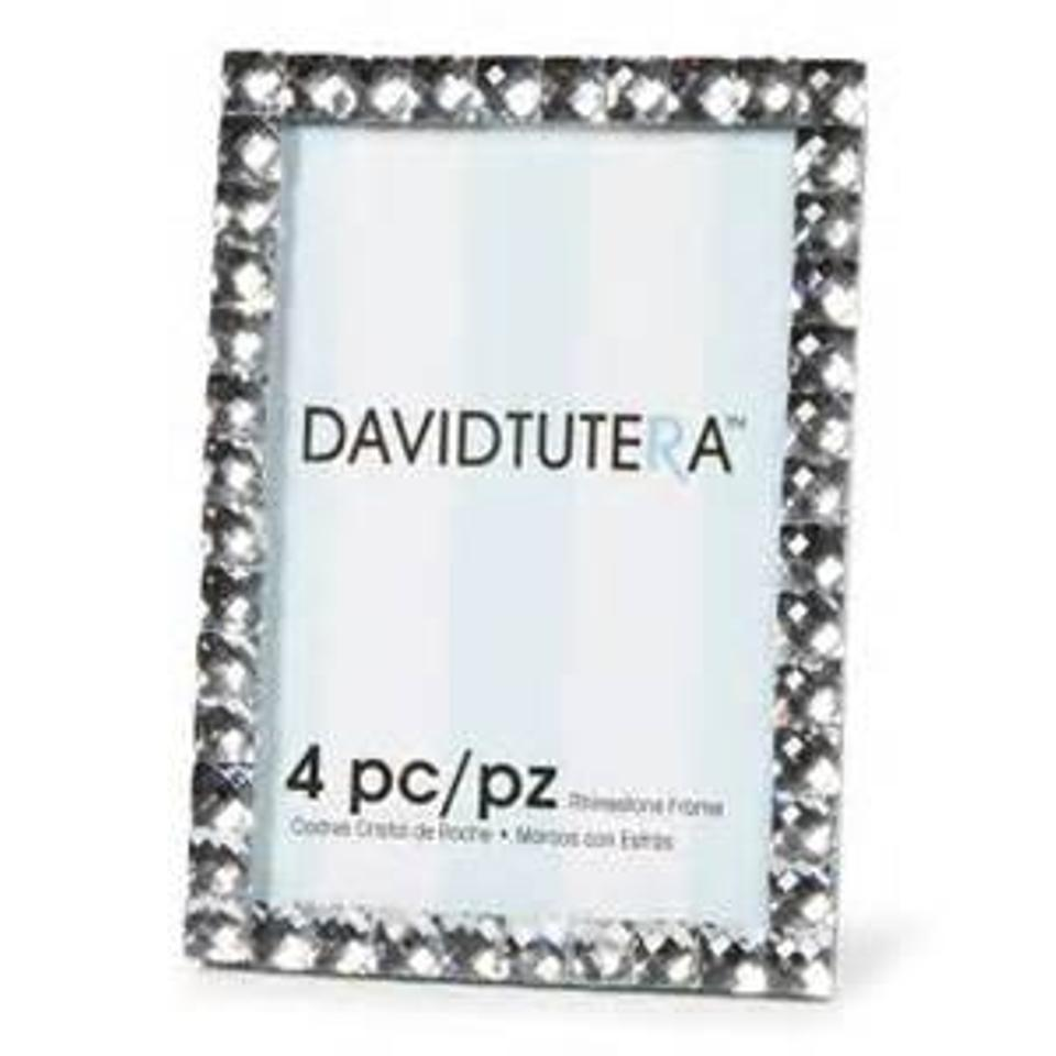 Silver 4pc Rhinestone Frames (4 Sets) - Table Numbers Reception ...