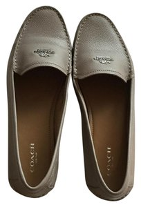 Coach Classic Taupe Flats