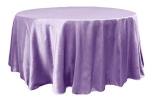 10--satin Tableclothes Victorian Lilac 132