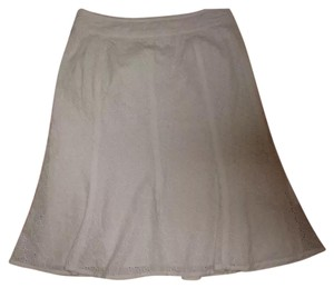 Alfani Skirt White Eyelet