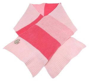 Burberry Burberry Women's Pink Multi Color Wool Scarf (30307)