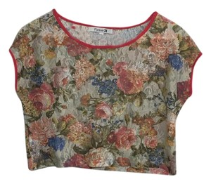 Forever 21 Fun Casual Top floral