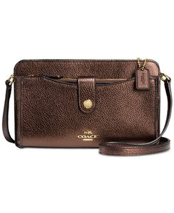 Coach light gold/bronze Messenger Bag