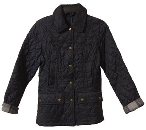 Barbour Summer Beadnell Navy Jacket