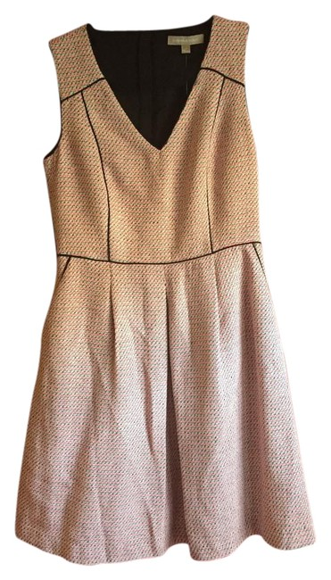 Preload https://img-static.tradesy.com/item/17726083/banana-republic-pink-and-black-multi-in-above-knee-workoffice-dress-size-2-xs-0-1-650-650.jpg
