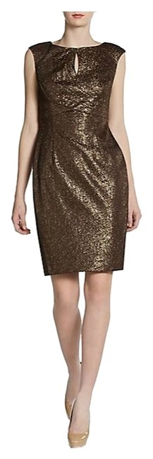 Preload https://item5.tradesy.com/images/kay-unger-metallic-lace-look-gold-above-knee-night-out-dress-size-2-xs-1772609-0-0.jpg?width=400&height=650
