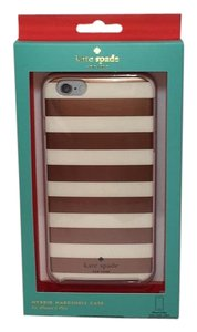 Kate Spade iPhone 6 Plus and 6s Plus Hard Shell Case Kinetic Stripe Hybrid NEW