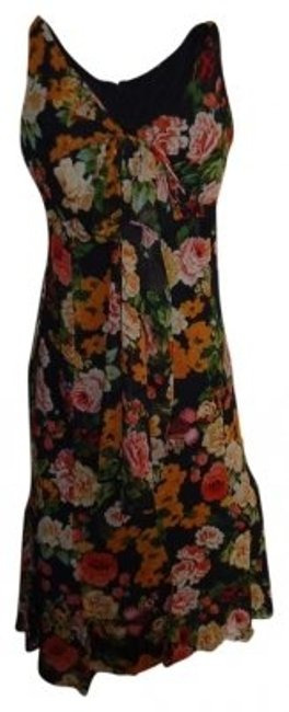 Preload https://img-static.tradesy.com/item/177264/newport-news-black-floral-rayon-xl-sheer-lined-print-high-low-casual-maxi-dress-size-16-xl-plus-0x-0-0-650-650.jpg