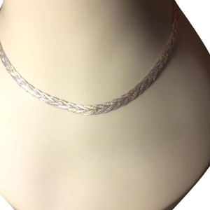 Italy 925 Sterling Silver, Gold , Rose gold 14Karat Twisted chain