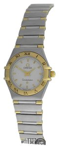 Omega Ladies Omega Constellation Mini 18K Gold Stainless Steel 22MM Quartz Watch