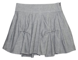 Willow & Clay Cotton Mini Skirt Gray