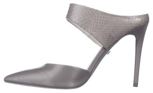 Kenneth Cole Gray Mules