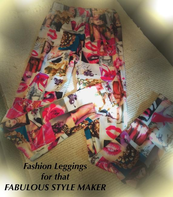 MAKE YOUR FASHION STATEMENT Multi Colors Leggings