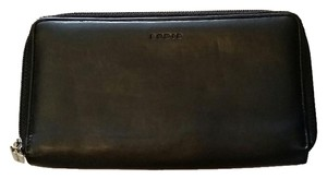 Lodis Black Leather Lodis Wallet