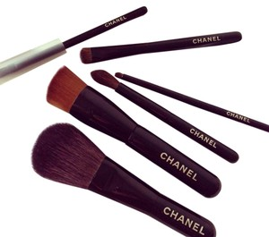 Chanel Authentic Chanel MINI Holiday Limited Edition Makeup Brushes (6 total)