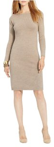 Lauren Ralph Lauren short dress Taupe on Tradesy