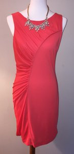 Halston Size 8 Free Shipping Poppy Nwt Dress