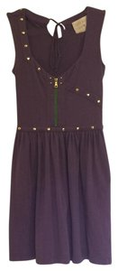 Lauren Moffatt short dress Purple Studded Skater on Tradesy