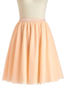 Modcloth Tulle Tutu Tulle Of The Trade Skirt Petal Pink