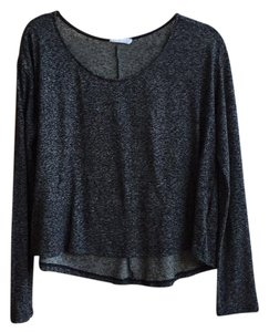 Lush Small Knit Marled Oversized Sweater
