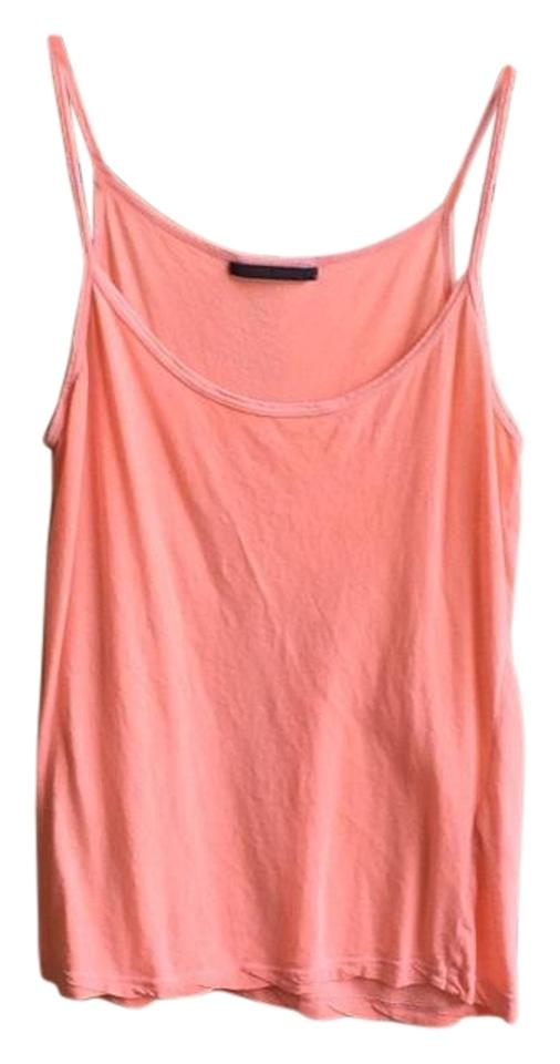fa4fc987a10359 Velvet by Graham   Spencer Orange Neon Jersey Tank Top Cami Size 4 ...