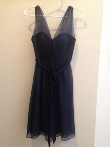 BHLDN Sapphire Ainsley Traditional Bridesmaid/Mob Dress Size 0 (XS)