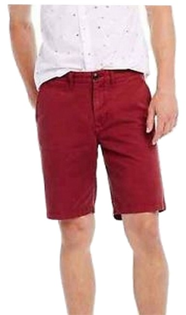 A|X Armani Exchange Bermuda Shorts Deep Red