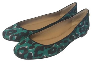 Ann Taylor Racing Green Flats