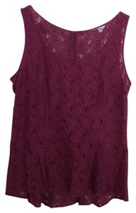 CAbi Top Gorgeous Plum