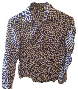 van Laack Button Down Shirt Blue/White