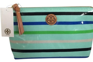 Tory Burch Teal Clutch