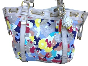 Juicy Couture Sequin Tote in Multicolor Floral