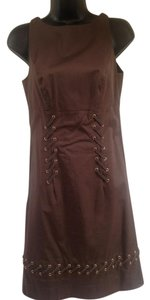 Etcetra Lace Up Dress