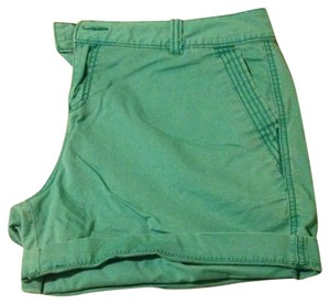 Maurices Cuffed Shorts Green