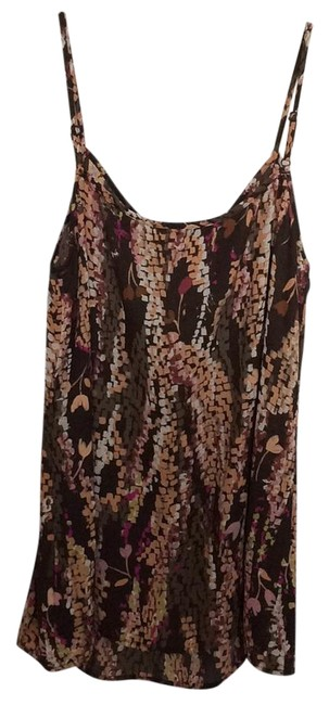 Item - Assorted- Brown Plum Pink Soft Orange Lime Tank Top/Cami Size 12 (L)