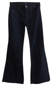 7 For All Mankind Flare Trousers Trouser/Wide Leg Jeans-Dark Rinse