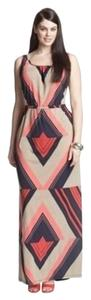 Multi Maxi Dress by Melissa Masse Geometric Maxi Gown